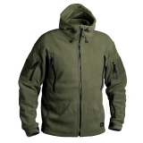 BUNDA HELIKON PATRIOT HEAVY FLEECE JACKET - OLIV