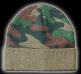 ČIAPKA COMMANDO WATCHCAP - WOODLAND
