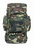 RUKSAK COMMANDO WOODLAND 55L - 14027020