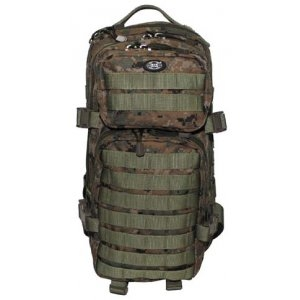 RUKSAK US ASSAULT PACK - WOODLAND DIGITAL 30L
