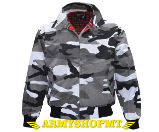 BUNDA HARRINGTON-metro camo